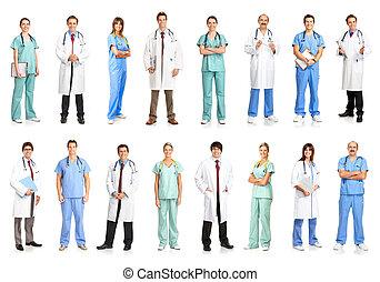 médico, pessoas