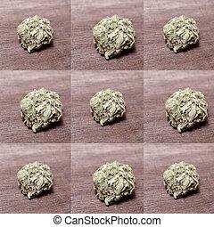 médico, prescripción, marijuana, rx
