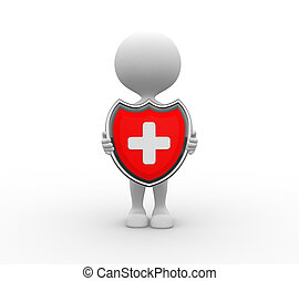 médico, protección