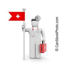 médico, servicios