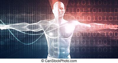 médico, tecnologia