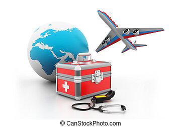 médico, turismo