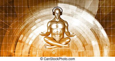 méditation, musique