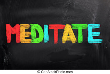 méditer, concept