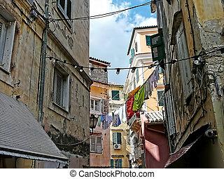 méditerranéen, coloré,  village