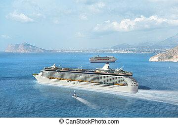 méditerranéen, croisière bateau