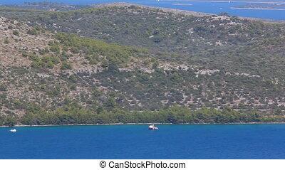 méditerranéen, littoral, telascica