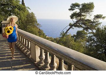 méditerranéen, tourisme