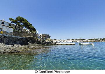 méditerranéen,  village