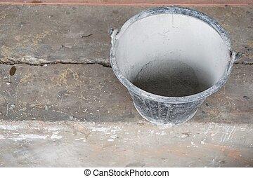 Pr t mortier m lang ciment photographie de stock - Ciment tout pret ...