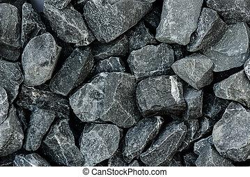 mélange, gris, béton, fond, granit, gravier