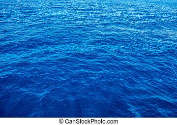 mély, kék, és, vég nélküli, tenger, alatt, pulyka