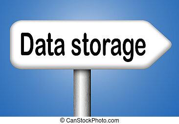 mémorisation des données