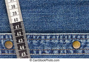 mérés, farmeranyag, szalag