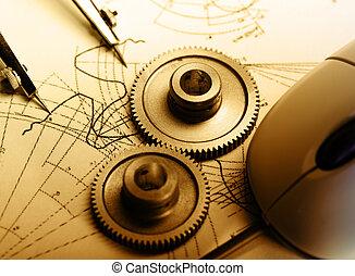 mérőkörző, megfogalmazás, mechanikai, ratchets