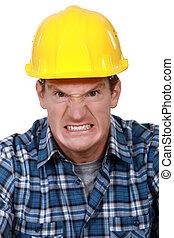mérges, építő