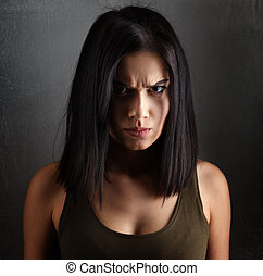 mérges woman, rossz