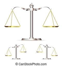 métal, balances