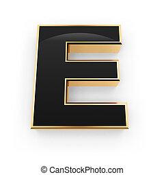 métal, e, lettre