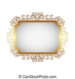 métal, emblème, or, icône