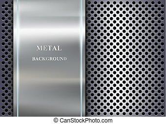 métal, fond