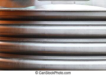 métal, industriel, fond