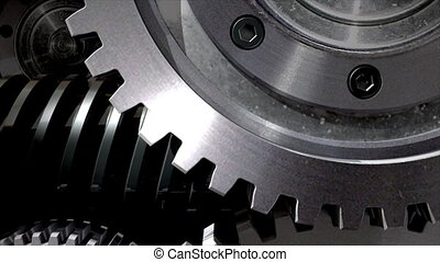 métal, mouvement, mécanismes