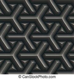 métal, pattern., seamless, texture.