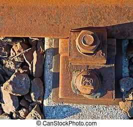 métal, rouillé, fou