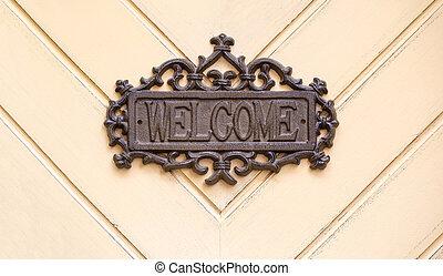 métal, signe bienvenu