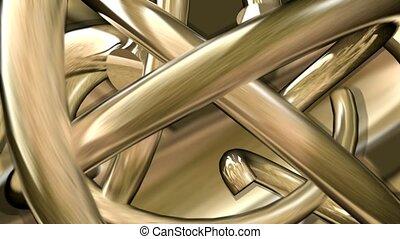 métal, tubes