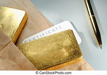 métaux précieux, trading.
