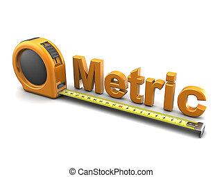 méter rendszerű