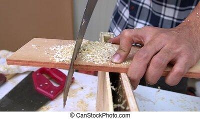 métier, atelier, charpentier, fonctionnement bois