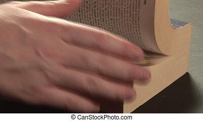 métrage, lecture, -, stockage
