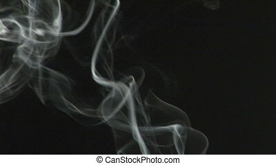 métrage, levée, fumée, stockage