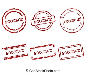 métrage, timbres