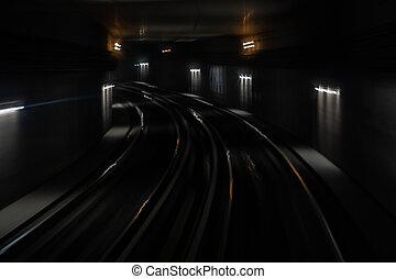 métro, tunnel-1