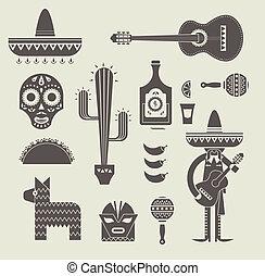 méxico, ícones