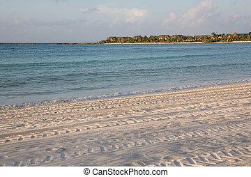 méxico, 77, playa, salida del sol