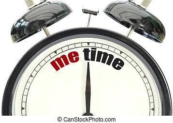mí, tiempo