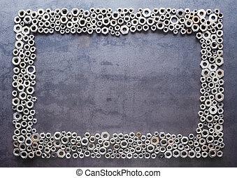 míchaný, kov, konstrukce, cvok, tkanivo, grafické pozadí