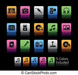 mídia, &, entretenimento, /, colorbox