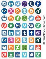 mídia, social