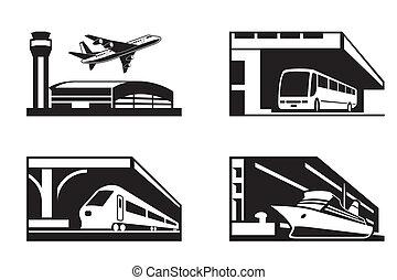 místa, o, veřejná doprava