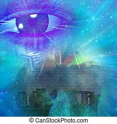 místico, símbolos