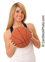 m�dchen, basketballspieler