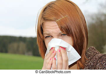 m�dchen, grippe