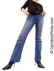 m�dchen, jeans