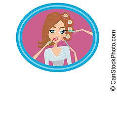 m�dchen, make-up